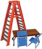 Wrestling Ultimate Ladder & Table Playset (Orange) - Ringside Collectibles Exclusive WWE Toy Action Figure Accessory Pack