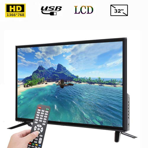 Smart TV de 32 Pulgadas, TV LCD BCL-32A / 3216D HD 1366 * 768 Admite Entrada de Antena RF USB HDMI 110-240V Fire TV Edition Black(Enchufe de la UE): Amazon.es: Electrónica