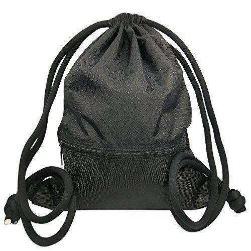 Mochila de Cordón Bolsa de Cuerdas Coolzon® Unisex Saco Deporte Bolso Gimnasio...
