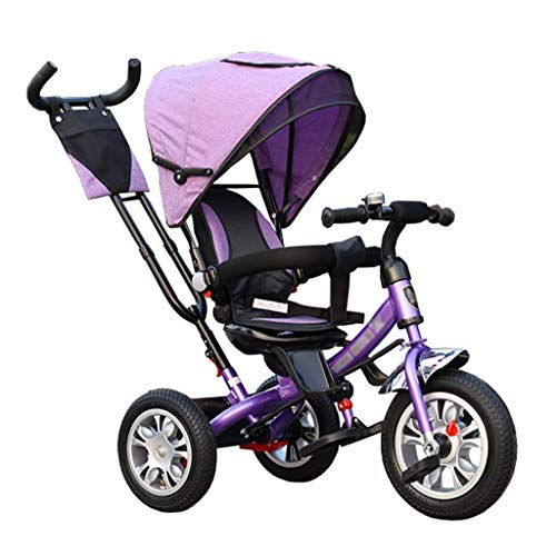 Great Deal! GFF Pushchair Unique Baby Stroller Tricycle Bike Carbon Steel Frame Children's Trolley C...