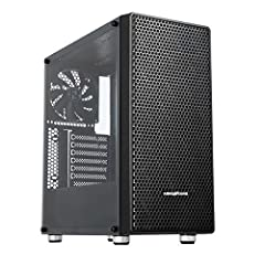 [PREMIUM MID TOWER CASE] Motherboard Support: Mini-ITX, Micro-ATX, ATX,Power Supply Support: ATX, Expansion Slots: 7ea [FULL ACYLIC TRANSPARENT PANEL] By applying full acrylic side panel, it gently reflets the light, and forms a luxurious atmosphere....
