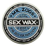 Mr. Zogs Original Sexwax - Tropical Water Temperature Coconut Scented (White)