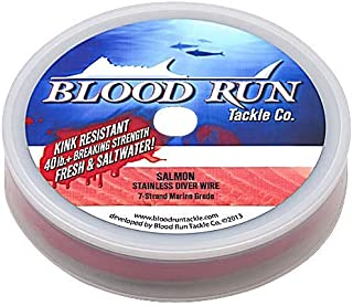 blood run trolling wire