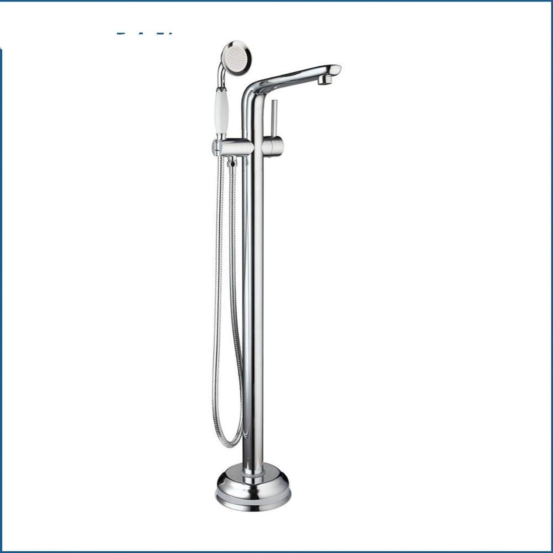 WHFDRHHS Badezimmer aus massivem Messing mit verchromtem Griff und Handbad