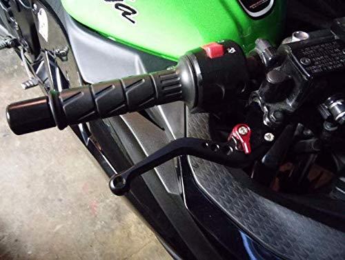 Les leviers dembrayage de Frein Courtes//Longs r/églables de Moto CNC pour Yamaha TDM 900 BT1100 Bulldog FZ6 Fazer XJR400 XJR400R Color : Long Black CHENWEI