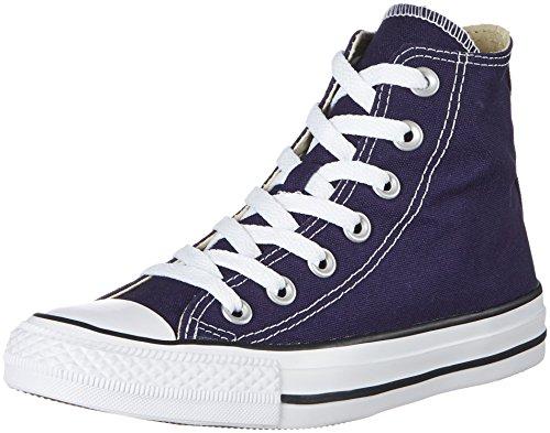Converse Chuck Taylor all Star, Sneaker a Collo Alto Unisex-Adulto, Blu Midnight Indaco, 44 EU
