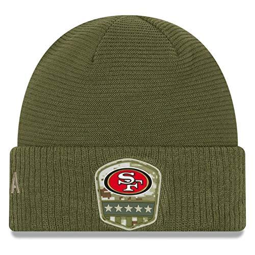New Era Salute to Service Wintermütze - San Francisco 49ers