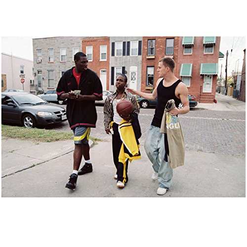 Step Up (2006) 8 Inch x10 Inch Photo Channing Tatum Walking w/Friends About to Play Basketball kn