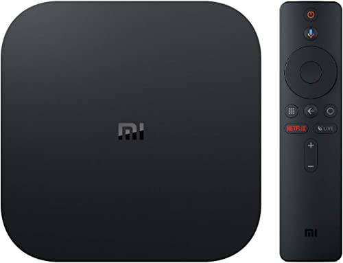 Xiaomi Mi Box S (International Version) - 4K HDR,Android 8.1,Voice Remote