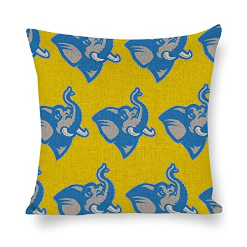 Tufts University Pillow Cotton and Linen Throw Pillow Cushion Home Decorations 16''×16''