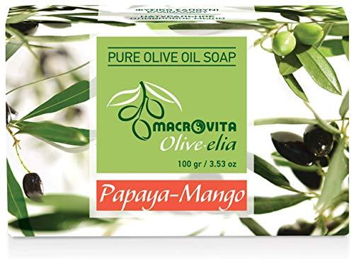 Olive-elia Pure Olijfoliezeep Papaya-Mango