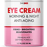 Anti-Aging Eye Cream for Dark Circles and Puffiness - Wrinkle Repair and Moisturizing - Best Under Eye Cream for Eye Bags, Fine Lines, Crow's Feet - Dark Circle Eye Treatment for Women and Men, 1.7 oz
