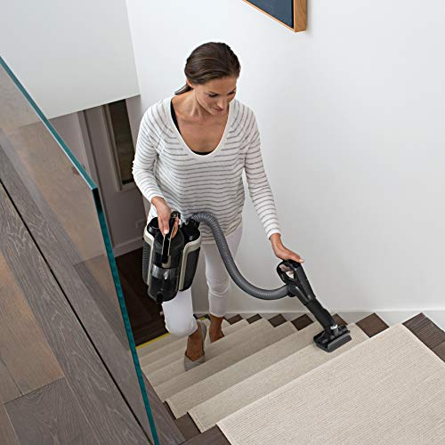 ION P50 - IC162, Lightweight Cordless Upright Vacuum with HEPA Filter, Handheld Vacuum Mode, and Shark DuoClean for Carpet and Hardfloor Cleaning