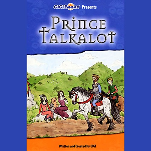 Prince Talkalot audiobook cover art