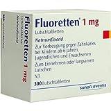 FLUORETTEN 1.0MG 300St Tabletten PZN:2477953