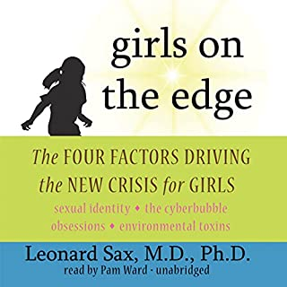 Girls on the Edge audiobook cover art