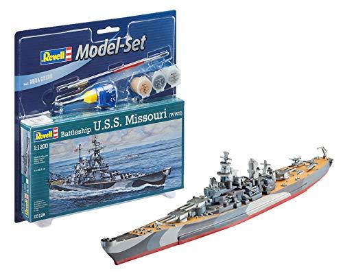 Revell 65128Model Set Battleship u.s.s. Missouri 1: 1200