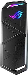 ASUS ROG Strix Arion - Caja de SSD M.2 NVMe (USB3.2 Gen. 2 de Tipo C 10 Gbps, Cables USB-C a C y USB-C a A, instalación si...