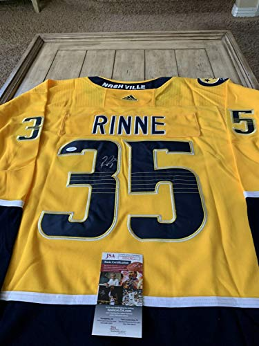 Authentic Autographed Pekka Rinne/Jersey JSA Buffalo Sabres