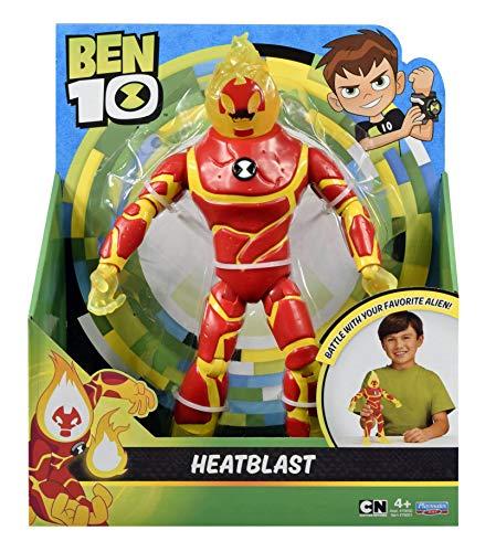 Ben 10 - Figura Base inferno gigante heatblast 27 cm circa Giochi Preziosi ben02100