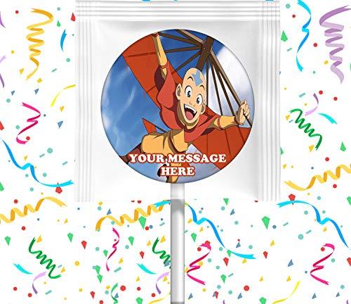 Avatar The Last Airbender Party Favors Supplies Decorations Lollipops 12 Pcs