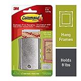 Support universel pour photo avec bandes de stabilisation par Command, grande taille, 17048