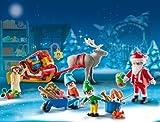 PLAYMOBIL Adventskalender – Weihnachtsmann beim Geschenke packen - 2