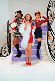 Clueless Movie Poster Textless Stairs 11x17 Master Print