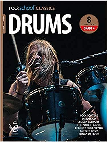 Rockschool Classics Drums Grade 4 2018