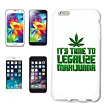 Helene - Carcasa para iPhone 5 / 5S IT's Time to Legalize Marijuana Gras Weed Marihuana Cannabis JOINTHardcase funda Smart Cover