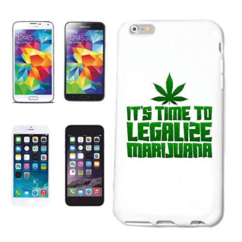 Helene - Carcasa para iPhone 5 / 5S IT's Time to Legalize Marijuana Gras Weed Marihuana Cannabis JOINTHardcase funda Smart Cover