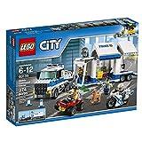 LEGOCityPoliceCentrodiComandoMobile,SetdiCostruzioni,CamioneMoto,GiochiperBambiniIspiratiallaPolizia,60139
