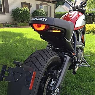 Ducati Scrambler Fender Eliminator Kit (No Plate Light Bracket) - New Rage Cycles