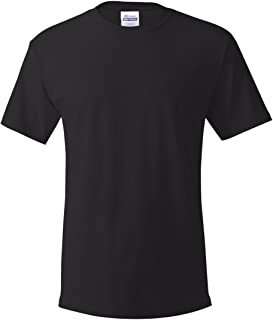 Hanes 5.2 oz. ComfortSoft Cotton T-Shirt (5280) Pack of 5-BLACK