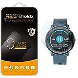 (2 Pack) Supershieldz for Garmin (Vivoactive 3 Music) Tempered Glass Screen Protector, Anti