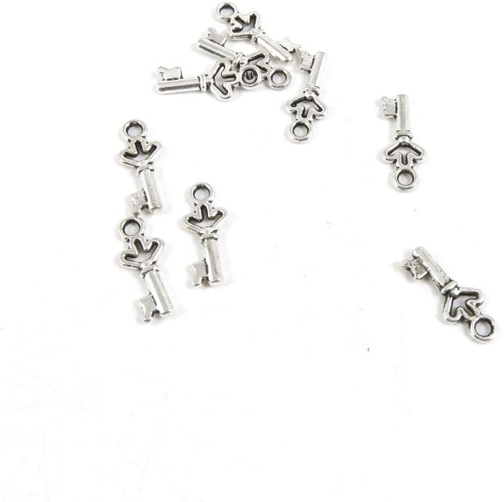 Arlington Mall 1730 Pieces Antique Silver Tone Making Jewelry Max 56% OFF Findings F Charms