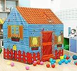 ARHA IINTERNATIONAL Jumbo Size Go to School Kids Play Tent House for 3-10 Year Old Girls and Boys