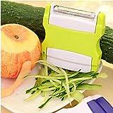 Onsinic Vegetal portátil rallador de Pepino de Ensalada de Frutas de Zanahoria Peeler Slicer multifunción Gadgets de Cocina