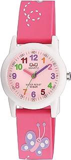 Q&Q Unisex-Child Quartz Watch, Analog Display and Resin Strap VR99J002Y