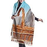 Tengyuntong Bufanda de mantón Mujer Chales para, Shih Tzu Dog Vacation Casual Chal Bufanda Bufanda de invierno de cachemir para mujeres Hombres
