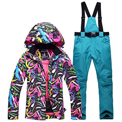 KUNHAN Heren ski-jack Heren ski-wear Sets Mannen En Vrouwen Sneeuwpak Outdoor Sport Draag Snowboarden Sets Waterdichte Winddichte Ademende Ski Jas En Bibs Sneeuwbroek