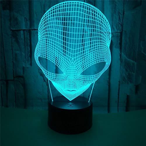 Grote oog vreemde nachtlampje 3D tafellamp Illusion, 7 kleuren veranderende Touch Switch slaapkamer eettafel bureau decoratie lampen