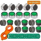 10 Stück Wasserhahn Strahlregler M24, 10 Strahlregler Innenteil, Luftsprudler Wasserhahn Hahn...