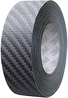 VViViD 3M 1080 Anthracite Grey Carbon Fiber Vinyl Detailing Wrap Pinstriping Tape 20ft Roll (2 Inch x 20ft)