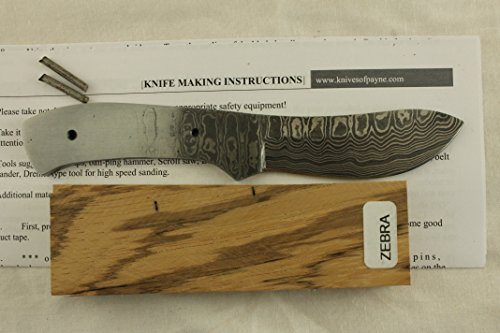 Payne Bros Custom Damascus Steel Knife Kit