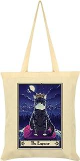Deadly Tarot Felis - The Emperor Tote Bag Cream 38 x 42cm