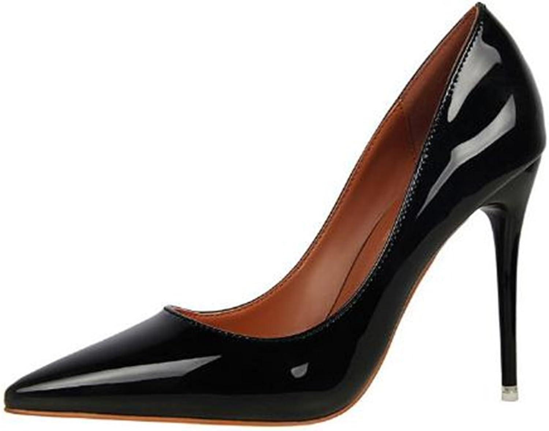 95e7998356 Gusha Elegant Stilettos Shallow Pointed Toe Women's high Heels Wedding shoes