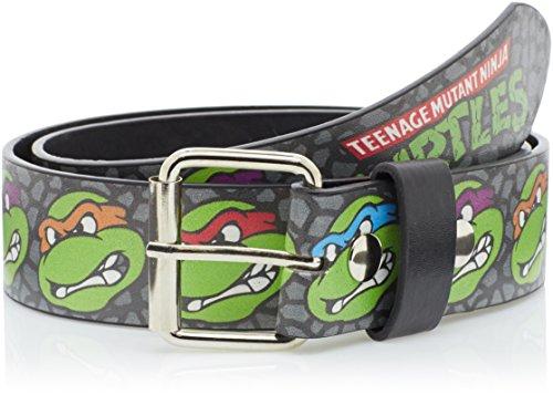 Ceinture 'Teenage Mutant Ninja Turtles' - Visages - Taille S