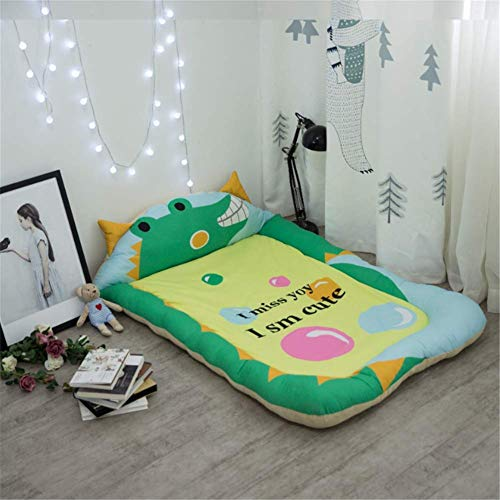 Great Deal! QAZWSX Baby Cotton Play Mat Cartoon Color Baby Activity Sleeping Blanket Crawling Mat Ch...