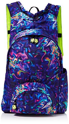 Morikukko Unisex-Adult Hooded Backpack Basic Patterned Plaid Backpack Multicolour (Patterned Plaid)